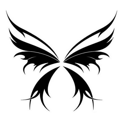 Tribal Butterfly Pics - Cliparts.co