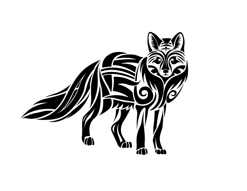 5c9268a70 Tribal Fox Tattoo by CoyoteHills on deviantART