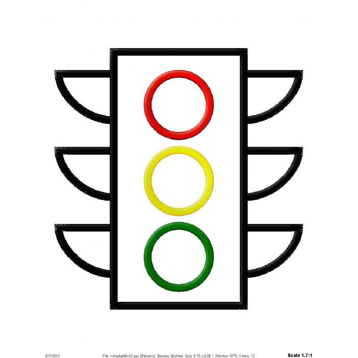 Stoplight Clipart Cliparts Co Stop Light Coloring Page