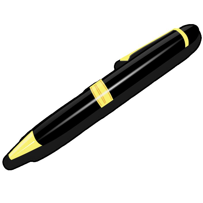 Clipart pen
