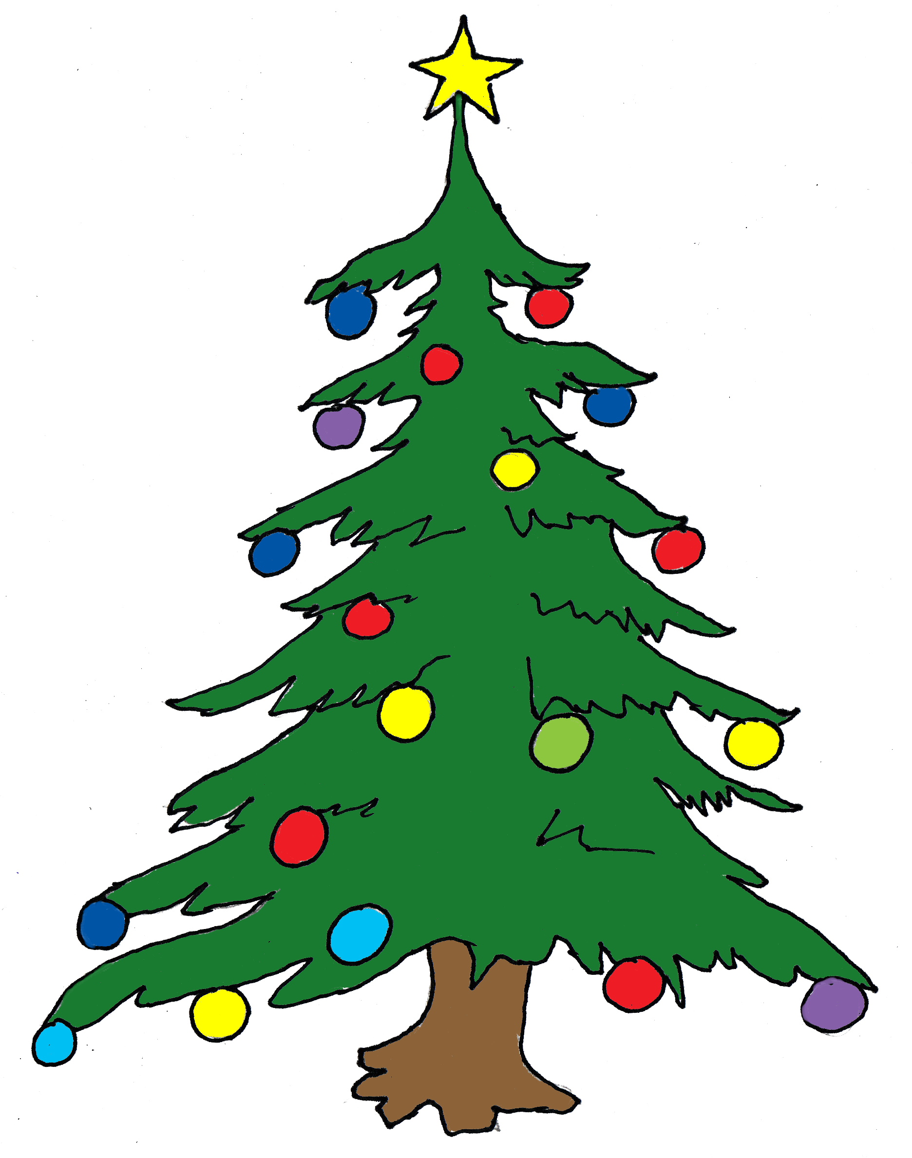 Christmas Trees Pictures Clip Art - ClipArt Best