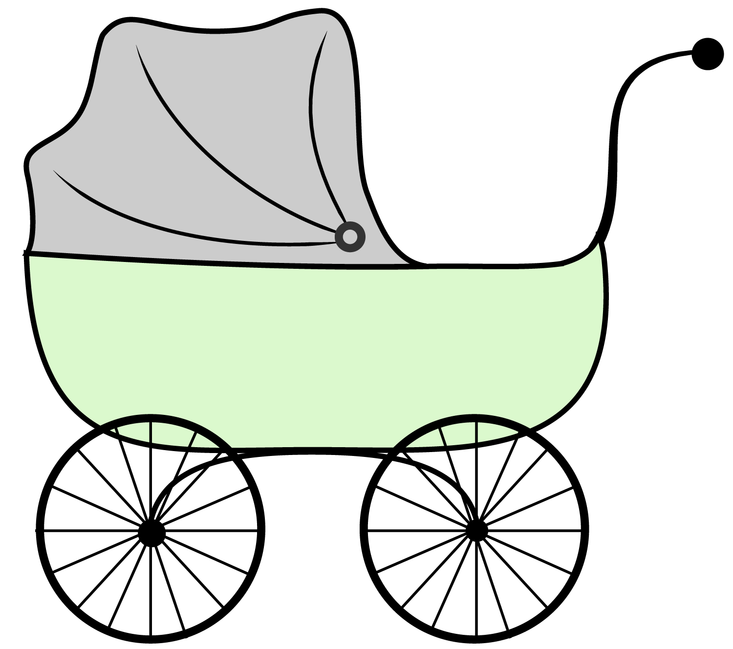 Baby Carriage Clipart - Cliparts.co