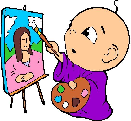 Clip Art - Clip art painting 537537