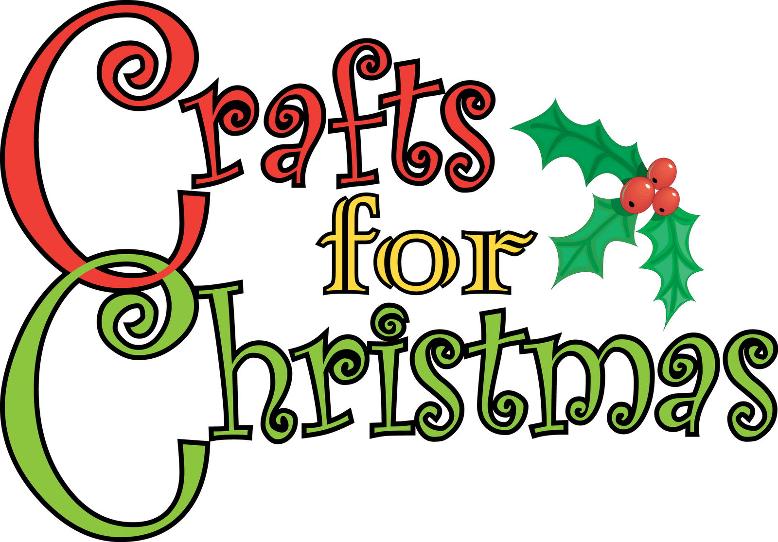Craft fair clip art for Holiday project