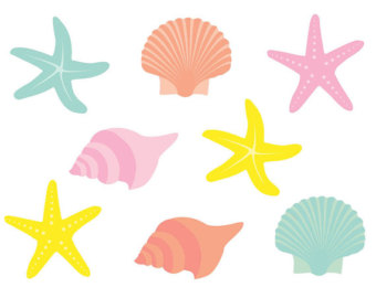 Seashells Clip Art - Cliparts.co
