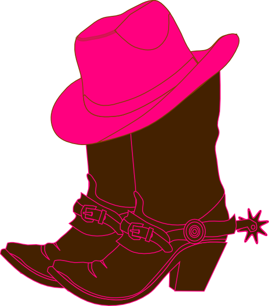 Cowgirl Boots clip art - vector clip art online, royalty free ...