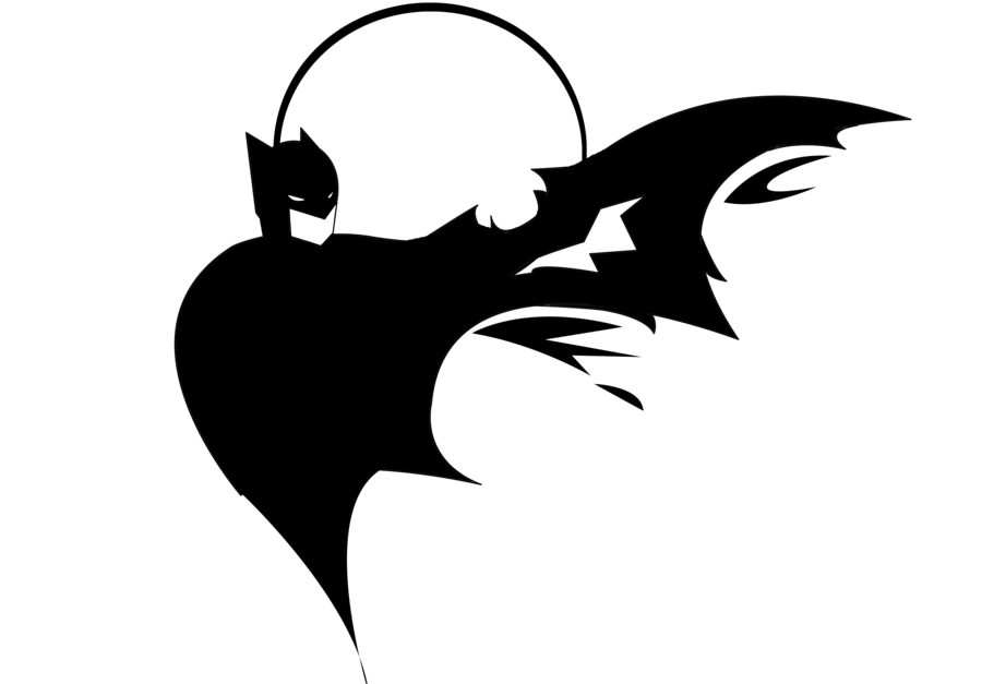 Batman Symbol Stencil - Cliparts.co