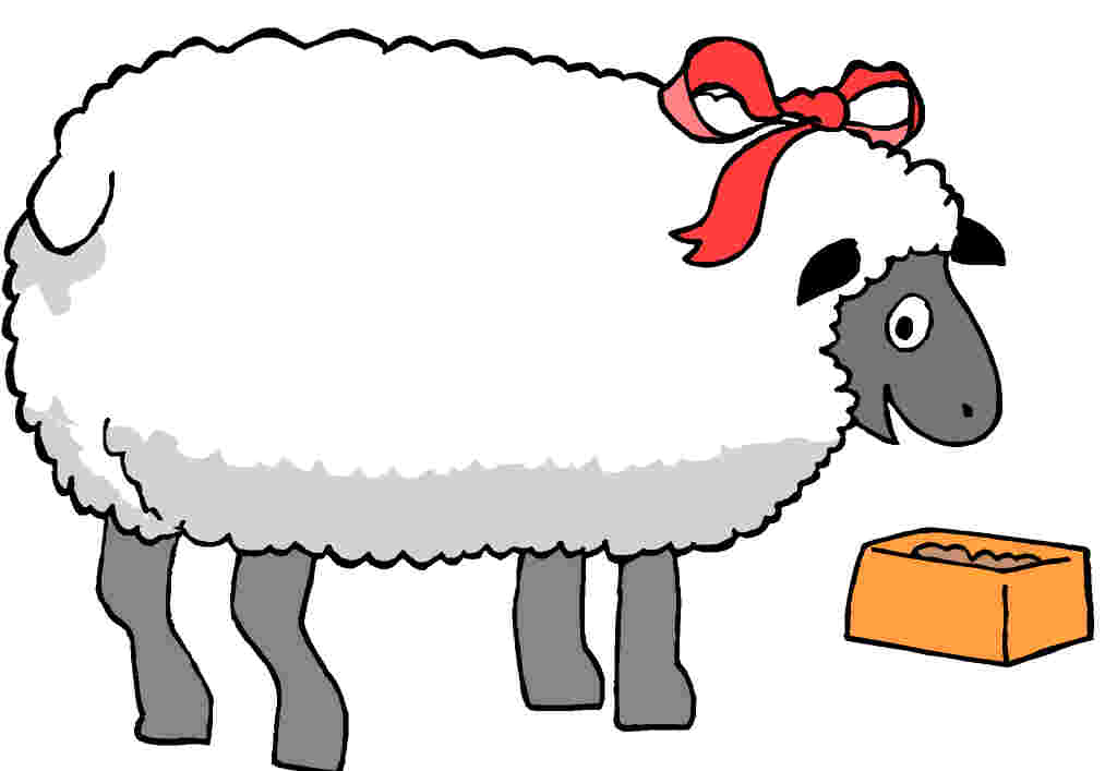 All Cliparts: Sheep Clipart