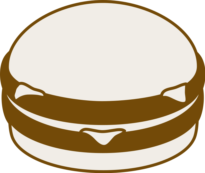 Related Pictures Burger Food Clipart Png 116 86 Kb Burgers Black ...