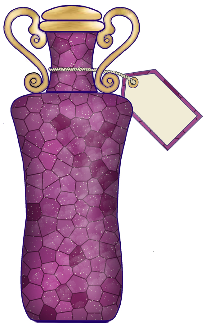 ArtbyJean - Paper Crafts: PRETTY PERFUME BOTTLES - CRAFTY CLIP ART ...
