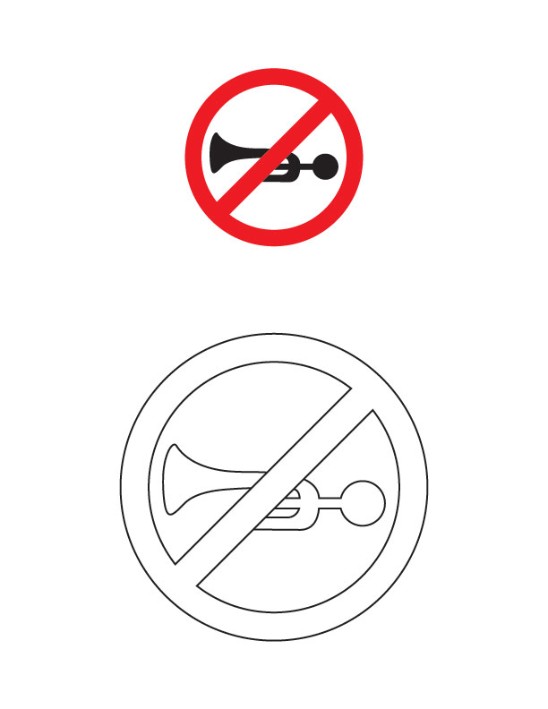 Printable No Parking Signs Clipartsco