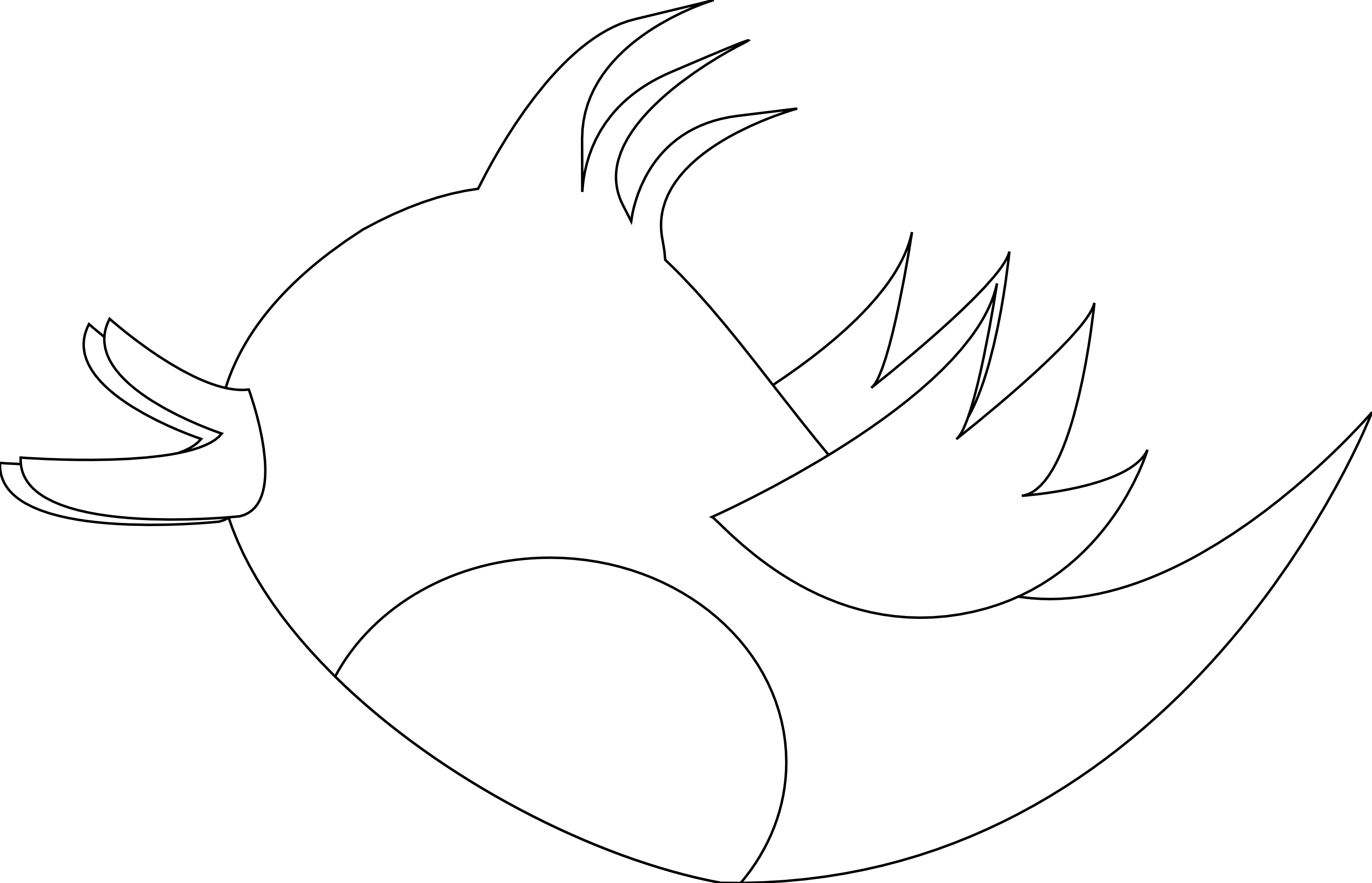 Line Art Dove : Dove line art cliparts