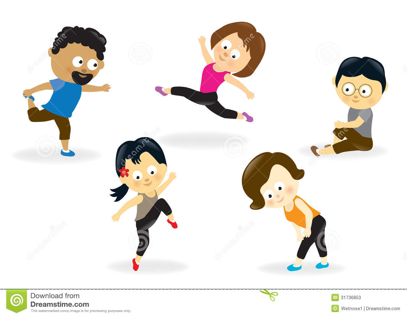 Free Clip Art Fitness Exercise Cliparts Co