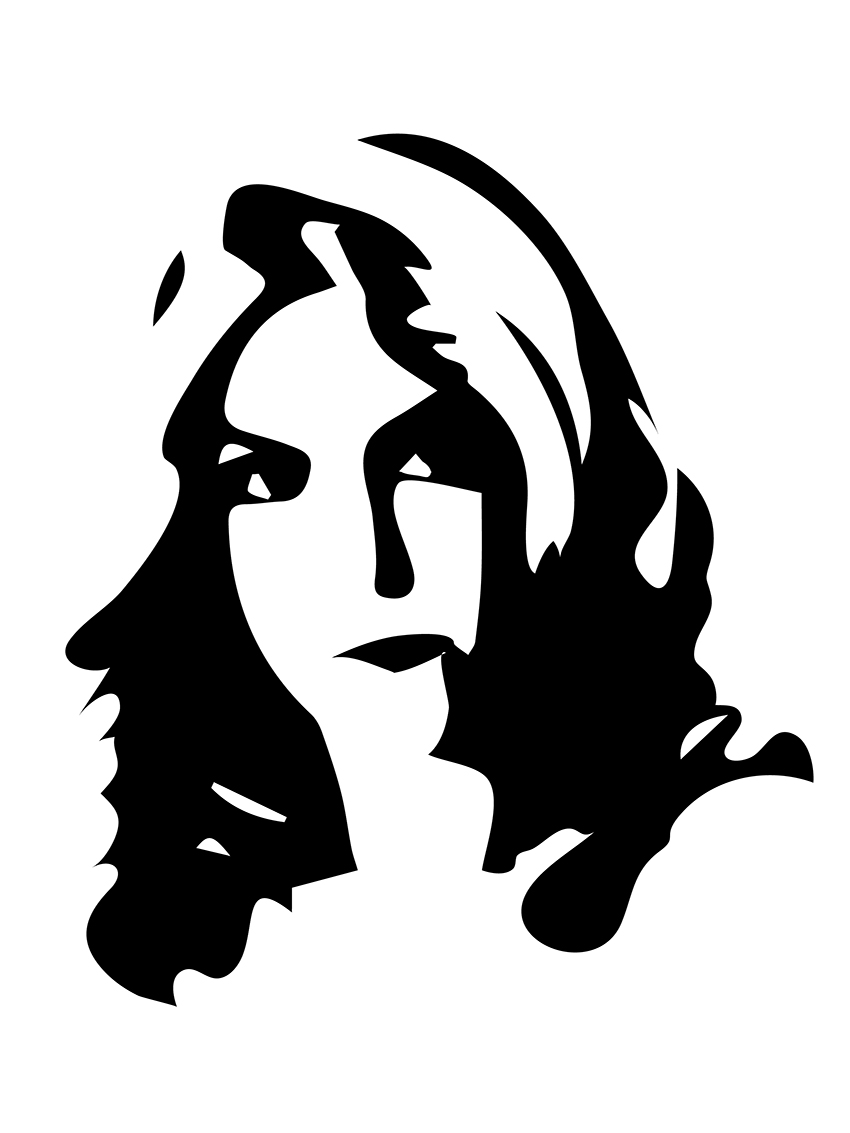 Images For > Woman Face Silhouette