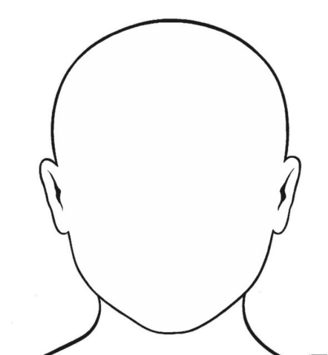 Face outline | Youth drawing tutorials | Pinterest