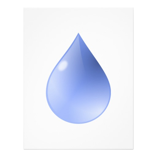 Raindrop Writing Template Cliparts Co