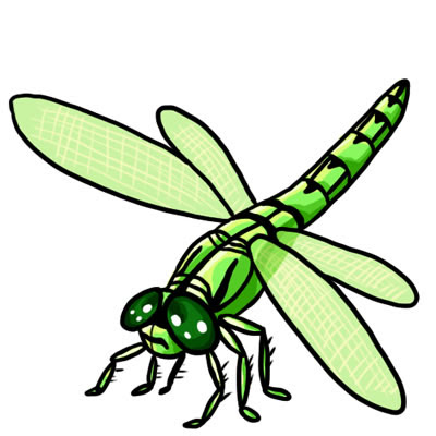 Cartoon Dragonfly Clipart Cake | Clipart Panda - Free Clipart Images