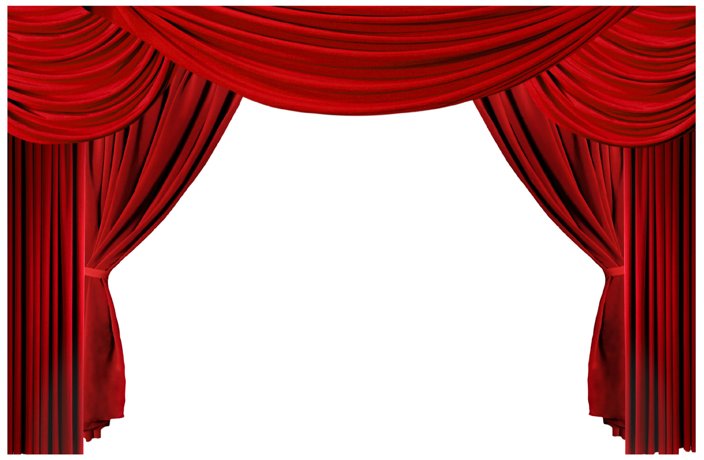 red curtains theatre - photo #1