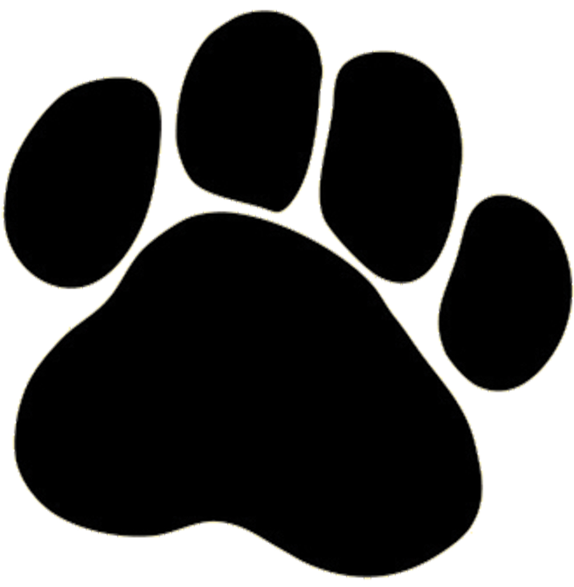 Clip Art Dog Paw Print - Cliparts.co
