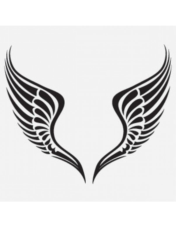 Free Tribal Wing Vector - Cliparts.co