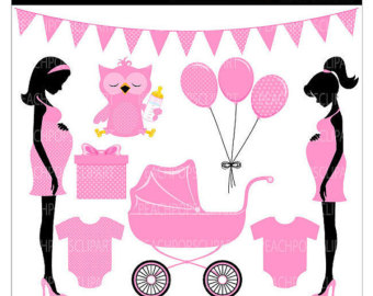 Popular items for baby clipart on Etsy