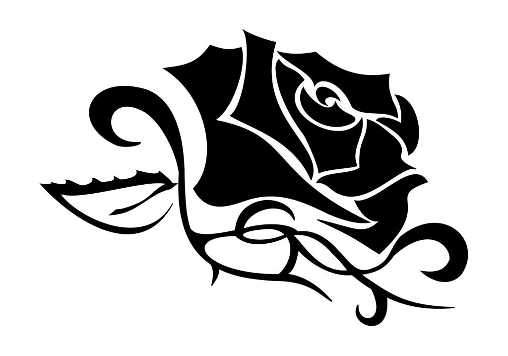 Pin Rose Tribal Tattoo Designs Tattoos10 On Pinterest
