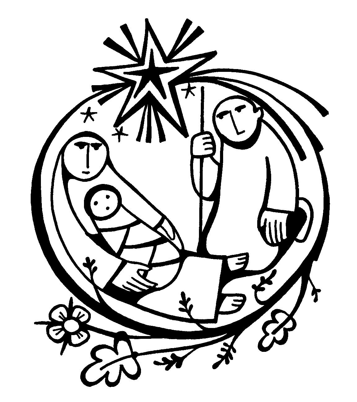 free clipart of baby jesus in a manger - photo #23