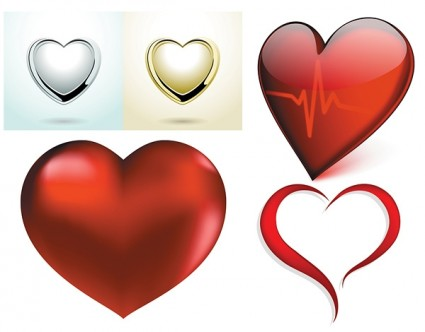 Free Vector Heart Images Vector Heart - Free vector for free download
