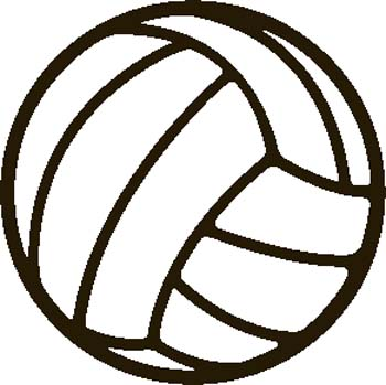 Volleyball Ball Clip Art - ClipArt Best