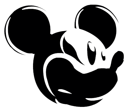 Mickey Mouse Ears Silhouette - Cliparts.co