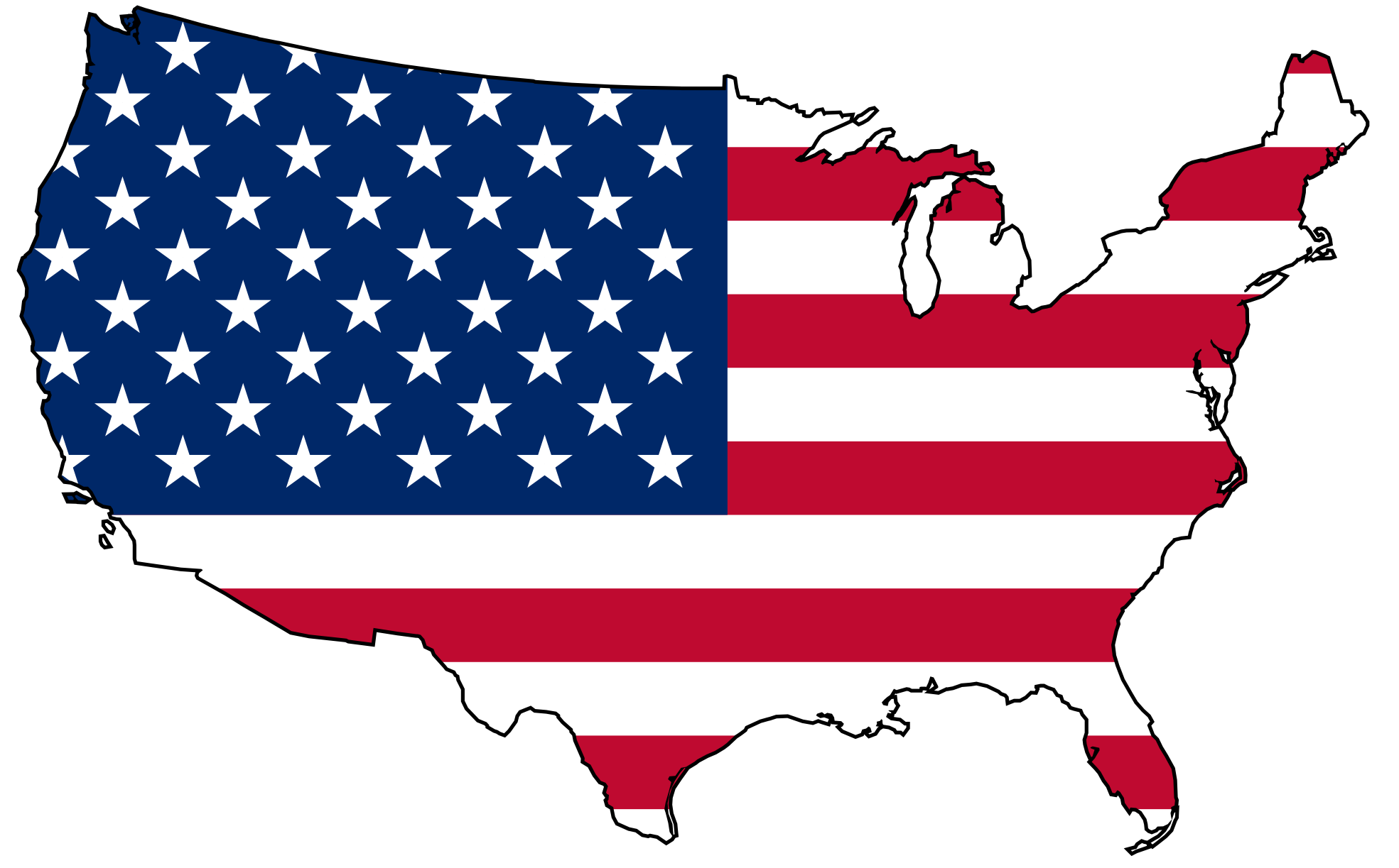 clip art map united states - photo #14