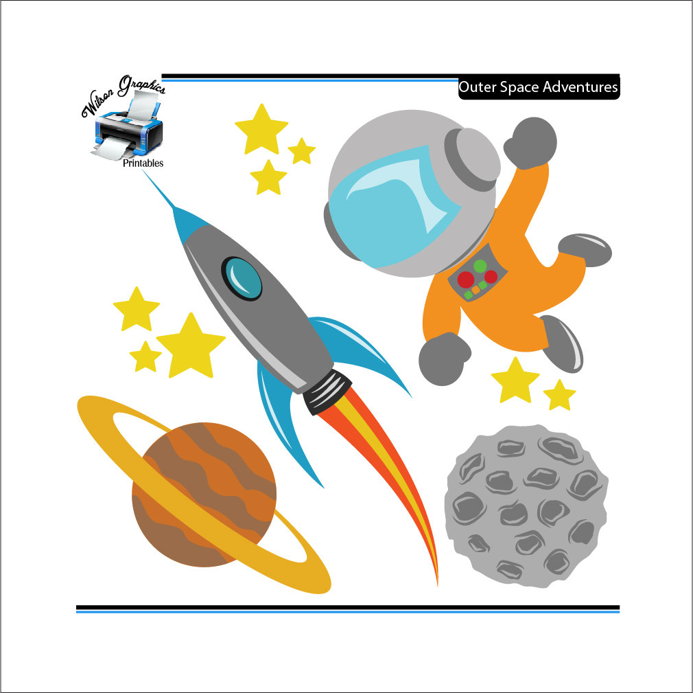 Free Outer Space Clip Art - Cliparts.co