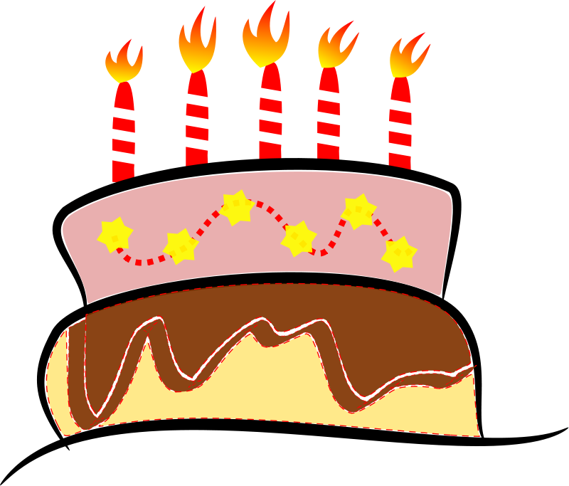 Piece Of Birthday Cake Clipart