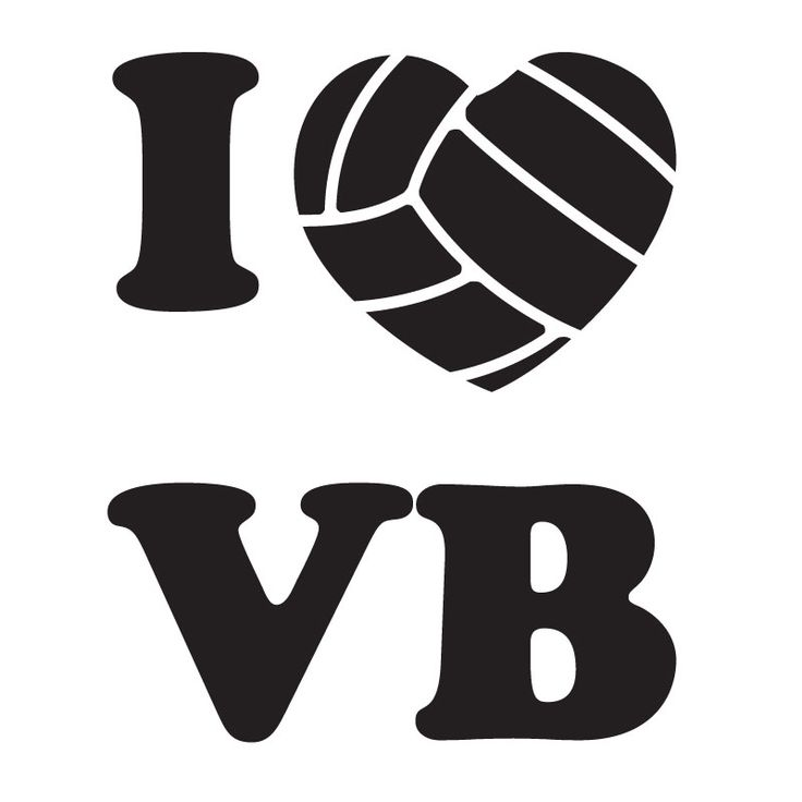 volleyball clipart for t shirts - photo #29