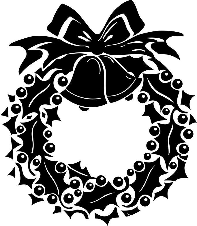Holly Wreath - Cliparts.co
