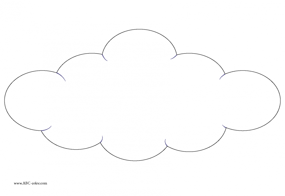 coloring pages of clouds - photo#26