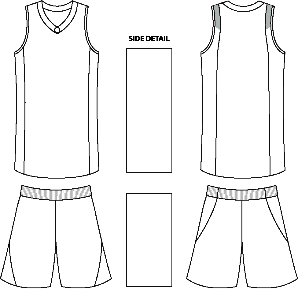 Blank Basketball Jersey - Cliparts.co