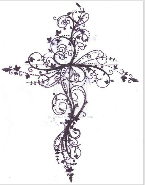 Cool pictures of crosses to draw cliparts