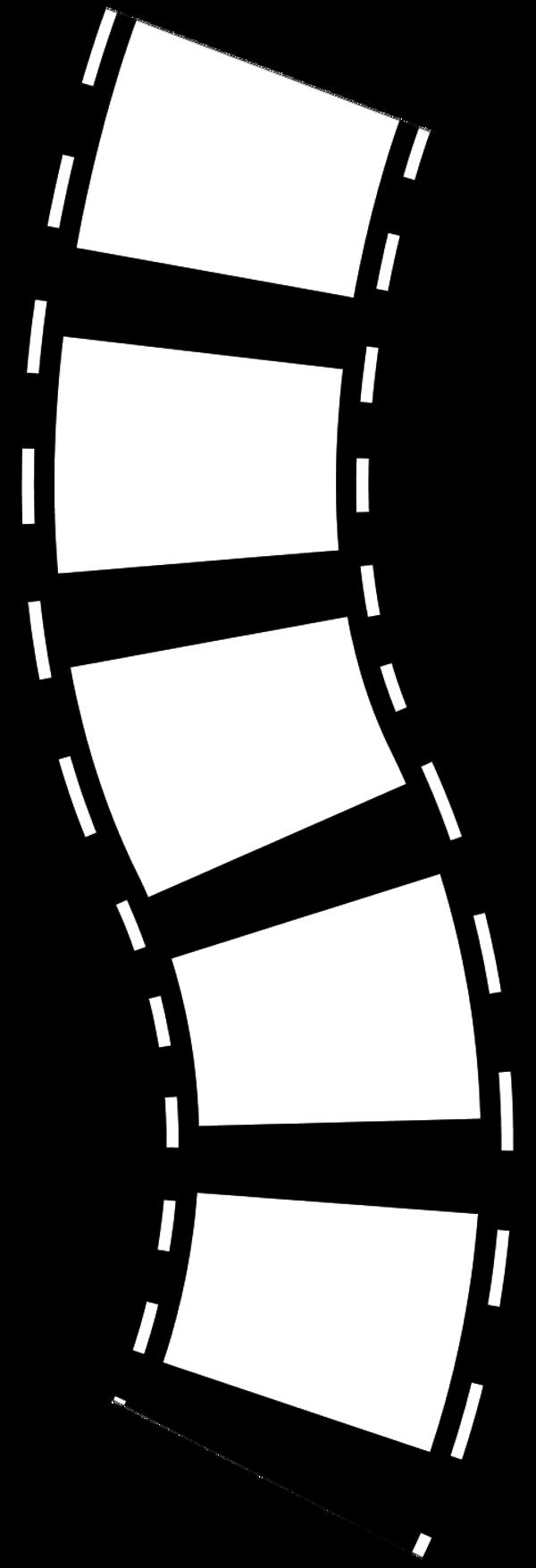 Film Strip: Vector Clip Art