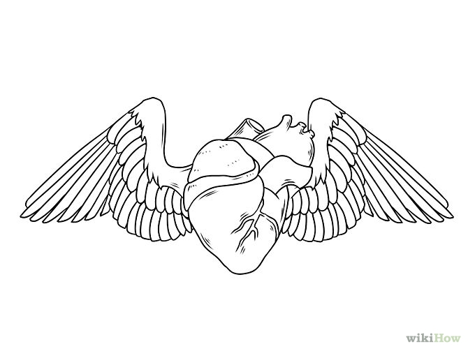 Hearts With Wings - Cliparts.co