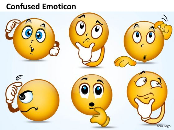 Ppt Design PowerPoint Presentation Of Confused Emoticon ...