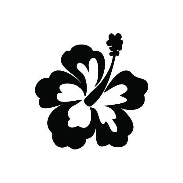 Hibiscus Flower Template Cliparts Co
