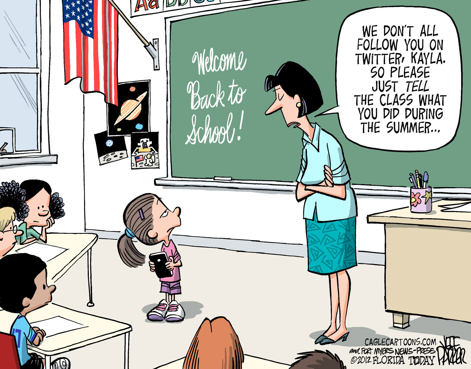 Back to school: Cartoons of the day