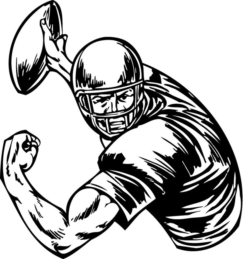 Cool football drawings