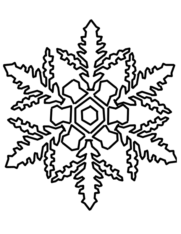 snowflake line art clipartsco with christmas snowflake coloring pages - Christmas Snowflake Coloring Pages