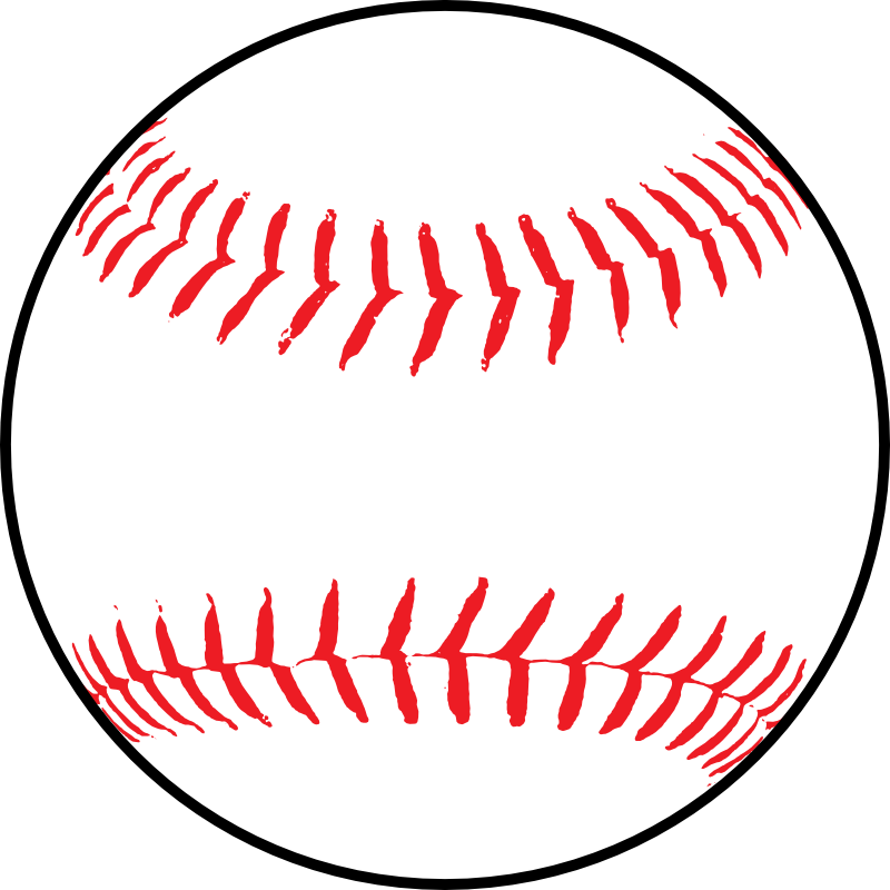 Clipart - Softball