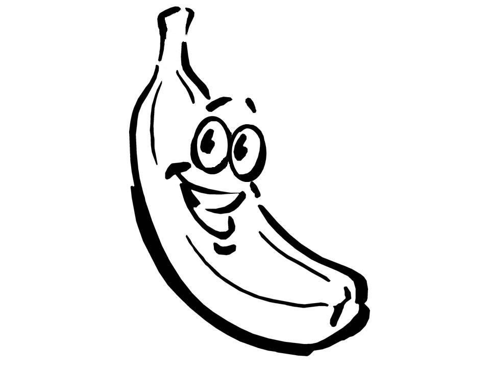 banana cartoon picture cliparts co Free Clip Art Black and White Straight Face Emoticon Emoticon Images Clip Art Black and White