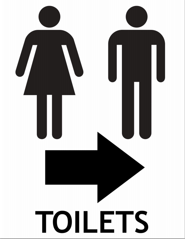Ladies Toilet Symbol   ClipArt Best. Printable Restroom Signs   Cliparts co