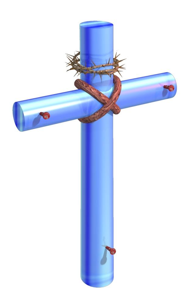 christian cross clip art blue - photo #28