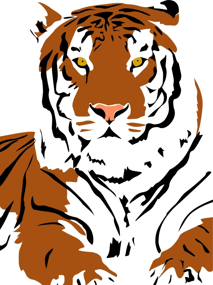 Tiger Art Images - Cliparts.co
